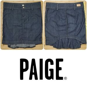 💐Ready for spring💐 PAIGE boho jean skirt